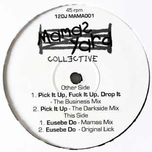 "Eusebe - Pick It Up, F**k It Up, Drop It (12"") (Promo) (VG-/NM)"